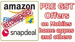 Best Pre GST Offers