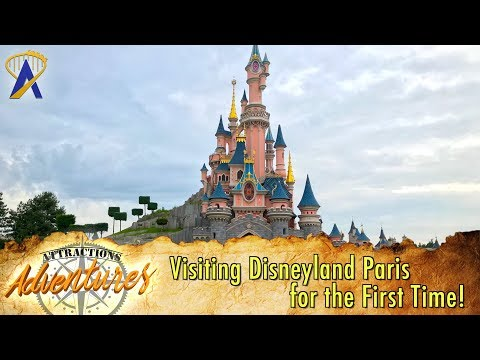 Visiting Disneyland Paris for the First Time!  Attractions Adventures
