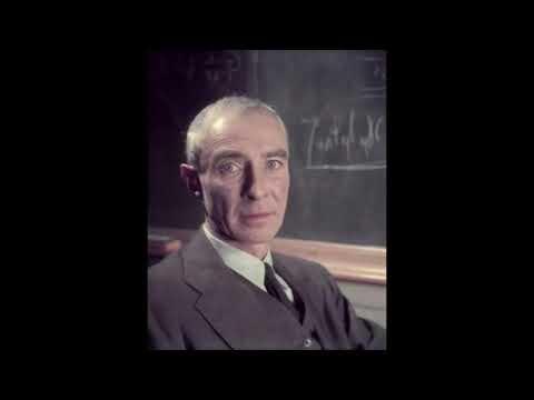 J. Robert Oppenheimer - Speech at the Princeton Theological Seminary (1958)