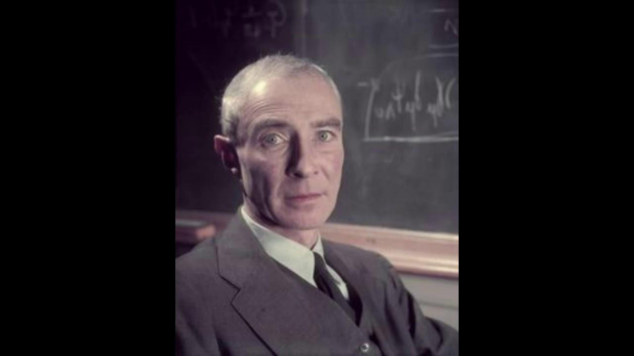 J Robert Oppenheimer Speech At The Princeton Theological Seminary 1958