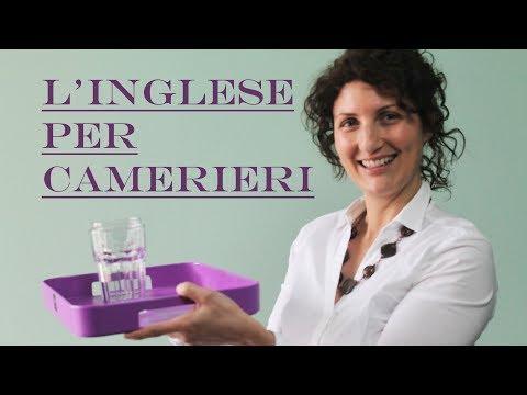 L'inglese per camerieri - Impara l'inglese con Maria
