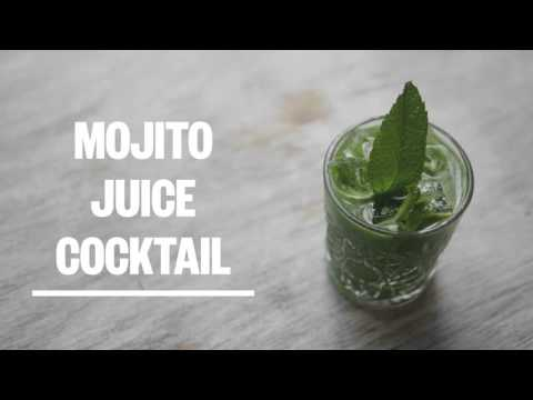 Adults Only Cocktail: The Cold Pressed Mojito - Green Press