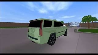 Roblox: 2015 Cadillac Escalade Review!
