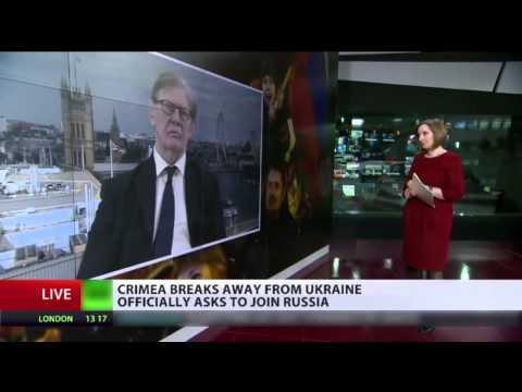crimea breaks away from ukraine officially ask to join russia