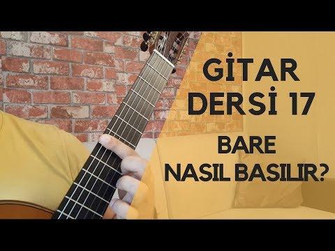 Fa Majör Akoru | Bare Nasıl Basılır | Gitar Dersi Hotel California Tab Arpej