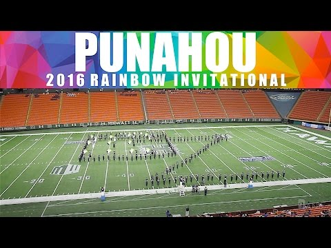 For Good | 2016 Punahou School Marching Band | Rainbow Invitational