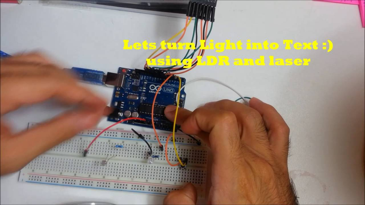 Morse Code Transmitter And Receiver Using Arduino Unity3d Youtube Thermometer Circuit With Electronic
