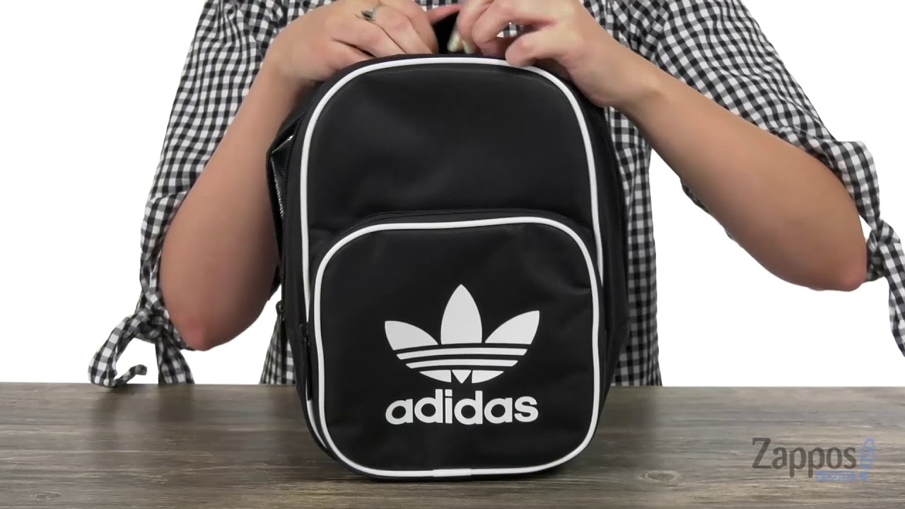 bf3cb65a9c4f adidas Originals Originals Santiago Lunch Bag SKU  9045374 - YouTube