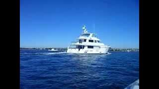 "Nordhavn 86 on San Diego Bay Larry ""Lucky"" Barrett 619-857-2628"