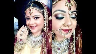 Asian Bridal Makeup | Indian Bridal Makeup | Desi Wedding Saga | Priaz Beauty Zone