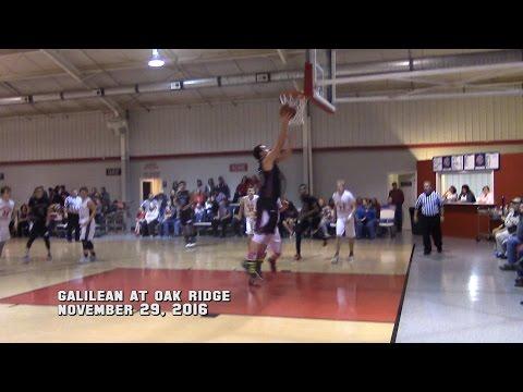 Galilean at Oak Ridge Nov 29, 2016