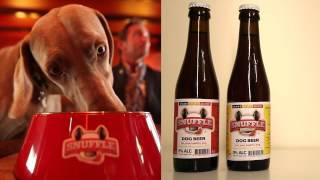 spot snuffle dog beer