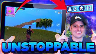 Mobile Fortnite - SOLO 12 KILL MATCH - First Place Win!?!? - Mobile Fortnite Gameplay