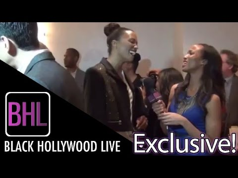 Aisha Tyler @ NAACP Image Awards Nominees Luncheon | Black Hollywood Live Interview