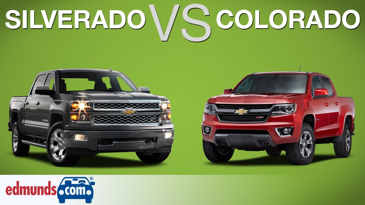 chevy silverado vs chevy colorado which chevy truck is best youtube. Black Bedroom Furniture Sets. Home Design Ideas