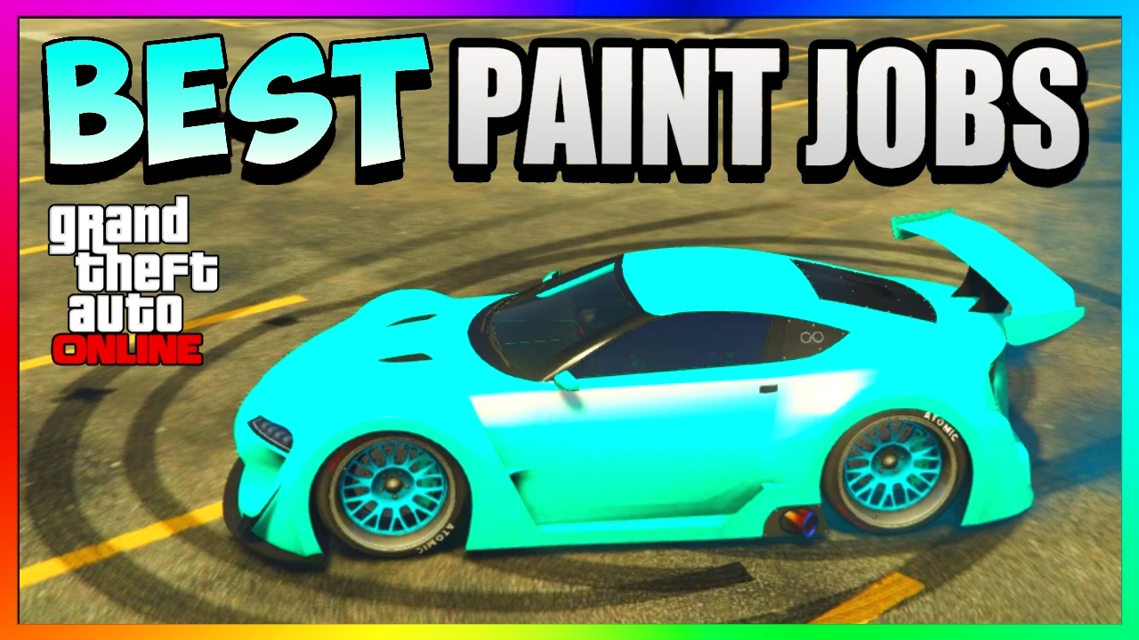 Gta 5 Online Best Rare Paint Jobs Sexy Car Color Schemes Pulsating Turquoise Gta 5 Paint Jobs