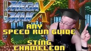 Mega Man X Any % Speedrun Guide: Part 4- Sting Chameleon