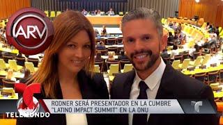Rodner Figueroa presentará el Latino Impact Summit | Al Rojo Vivo | Telemundo