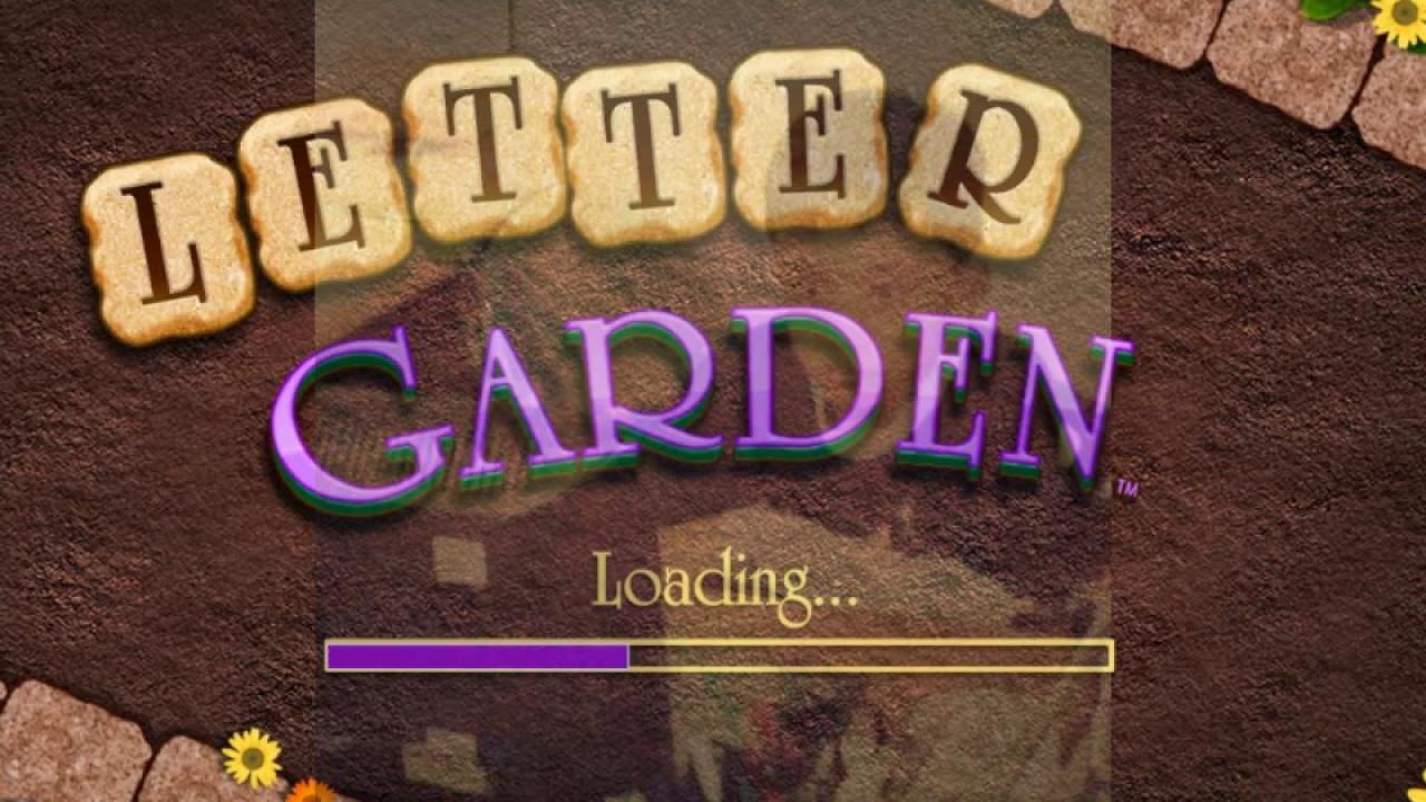 game letter garden salam - Letter Garden Game