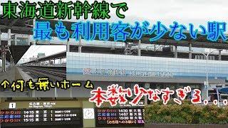 東海道新幹線で最も利用客が少ない駅はどんな駅? -東海道新幹線岐阜羽島駅-