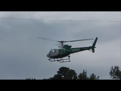 Medflight Landing at East Limestone High School