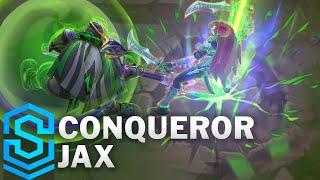 Conqueror Jax Skin SpotĮight - Pre-Release - League of Legends