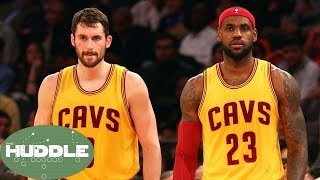 Will LeBron James or Kevin Love Be the First to Follow Kyrie Irving Out of Cleveland? -The Huddle