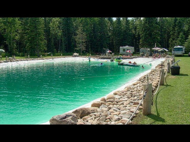Man builds massive 317,000-gallon swimming pool in his backyard | WREG.com