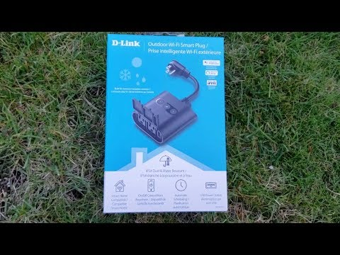 D-Link Outdoor Wi-Fi Smart Plug blogger review