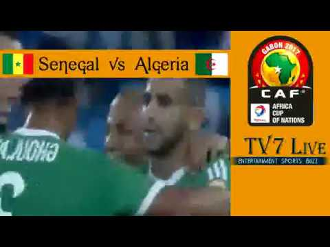 Senegal Vs Algeria 23 January 2017 Watch Live Match Preview
