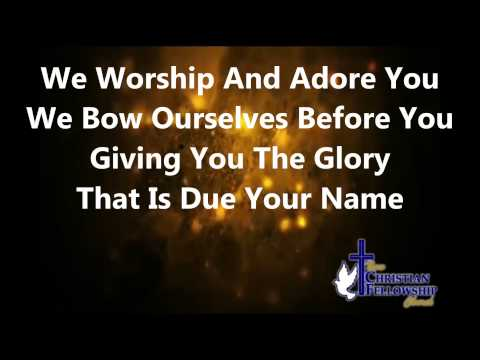 Glory to your name - Byron Cage - Lyrics