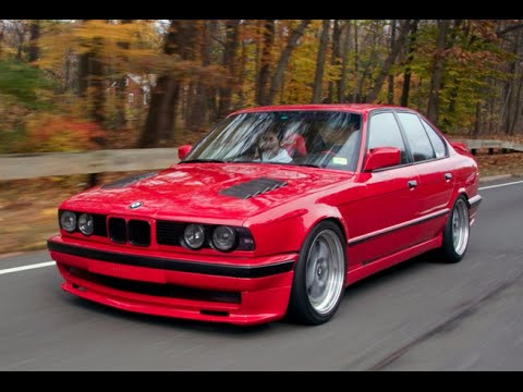 Turbo BMW E34 535i  One Take  YouTube