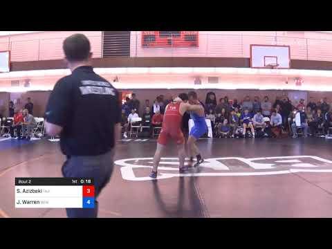 67 Kg Prelims Sharifzoda Azizbeki Tajikistan Vs Joe Warren New York Athletic Club