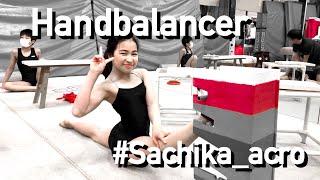 Handbalance, Technique, Sachika Imoto won the Acrobatic Blocks Competition 2nd Edition.(井本幸佳)