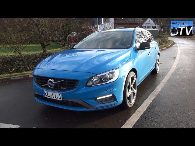 Volvo V60 R Design D5 Polestar 230hp Drive Sound 1080p Youtube