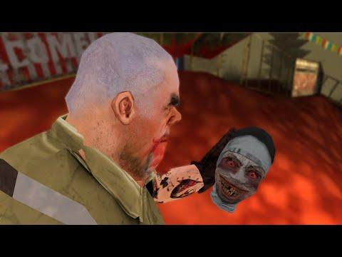 Granny Vs Mr.Meat Vs Evil Nun Funny Animation Part 54