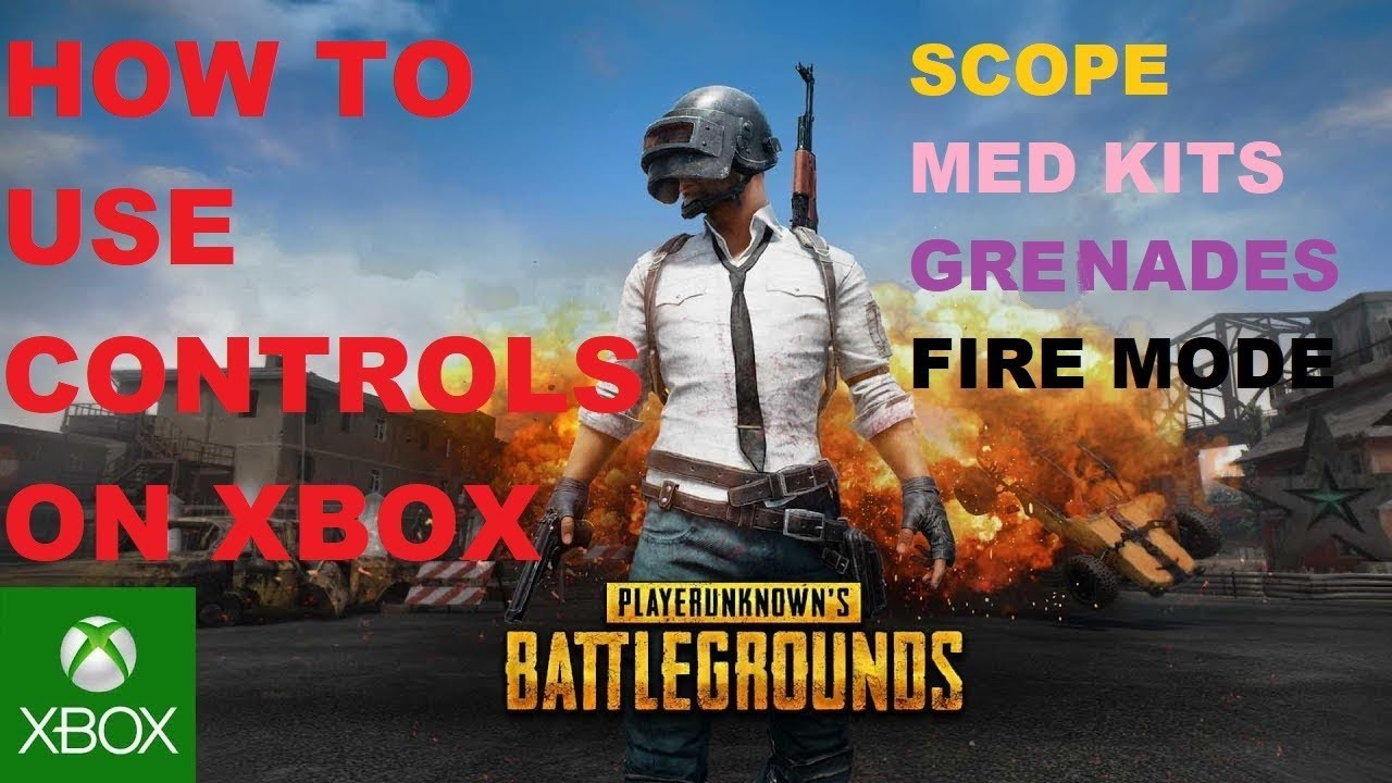PUBG Xbox One Controls Tutorial How To Scope Use Med
