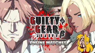 Leo's STILL A NIGHTMARE! Giovanna - Guilty Gear Strive Beta - Online Matches