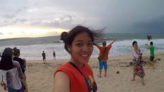 JOJO ON THE BEACH - BALI 2K16// GOPRO HERO 5    KUU WAI OO