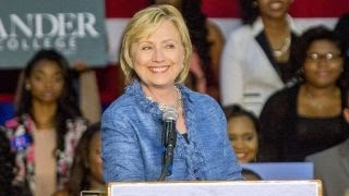 Is Hillary Clinton a 'real person'?