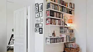 Book Storage Ideas #bookshelves