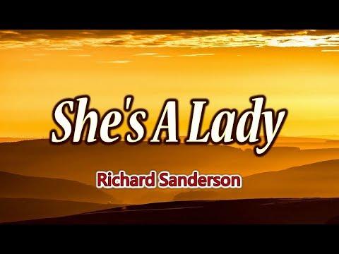 She's A Lady - Richard Sanderson (KARAOKE)