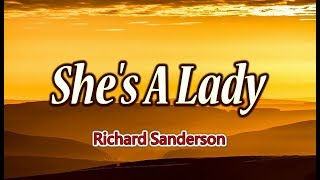 Lagu Video She's A Lady - Richard Sanderson  Karaoke Version  Terbaru