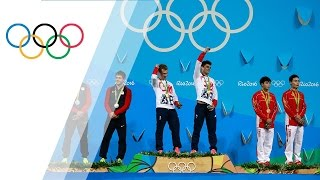 Team GB's Laugher and Mears win gold in Men's Synchronized 3m Springboard