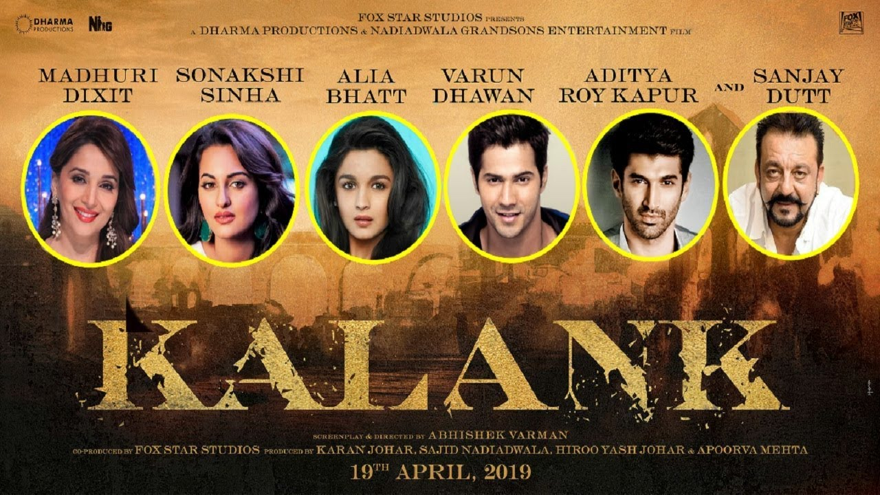 Ssrs Movie Kalank Movie Download: Madhuri Dixit , Sanjay Dutt