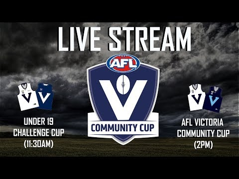 AFL Victoria Community Cup: Country v Metro
