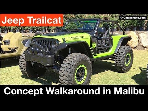 Jeep Trailcat Concept Walkaround in Malibu   CarNichiWa.com