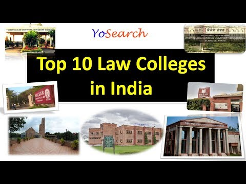 Top 10 Law Colleges in India | Best Law Colleges in India