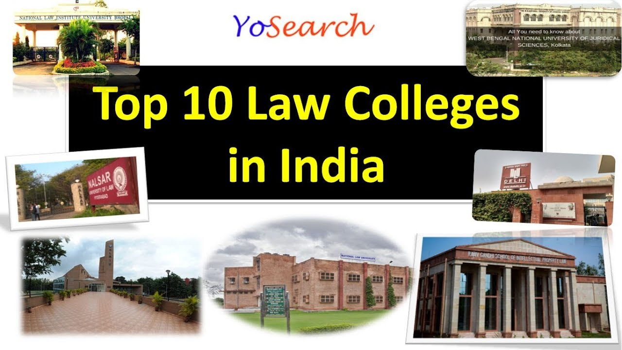 Top 10 Law Colleges in India | Best Law Colleges in India ...