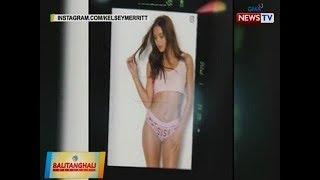 BT: Fil-Am model Kelsey Merritt, todo ang paghahanda sa pagrampa sa sikat na lingerie fashion show